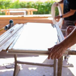 Ablakfelújítás – munka közben